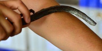 Assosda 2 bin yıllık kir ve yağ kazıma aletleri bulundu