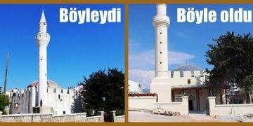 Vakıflar Bölge Müdür Vekili Ak Cami restorasyonunu akladı!