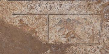 Antalyadaki tuvalet mozaiklerinde müstehcen çizimler bulundu