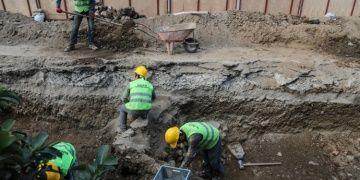 Üsküdarda İSKİ kazısı arkeoloji kazısına dönüştü