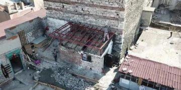 Tarihi Sağır Hanın üstündeki kaçak yapılar yıkılacak