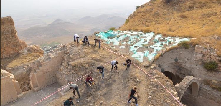 Mardin Kalesi'nin ziyarete açılması için çalışmalar sürüyor