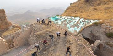 Mardin Kalesinin ziyarete açılması için çalışmalar sürüyor