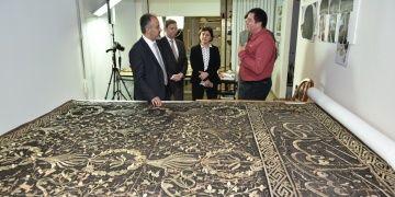 Bursa Konservasyon Atölyesinde Kutsal Emanetler restore ediliyor