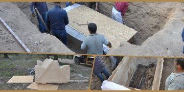 Hisardere nekropolünde 1700 yıllık lahit bulundu