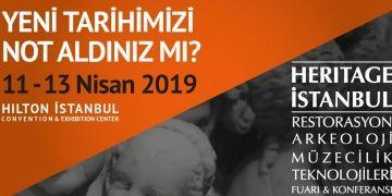 Heritage İstanbul 2019 fuarı 11 Nisanda kapılarını açacak