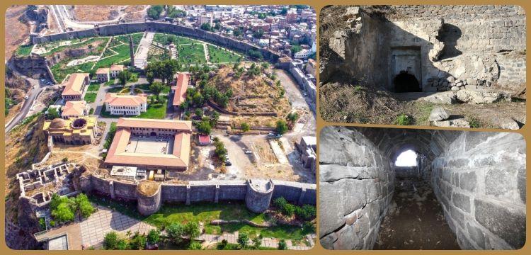 Dİyarbakır Amİda HÖyÜk kazılarında tÜnel ve su sİstemİ bulundu
