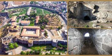 Diyarbakır Amida Höyük kazılarında tünel ve su sistemi bulundu