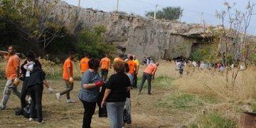 Girnedeki Kirsokava Arkeolojik Sit Alanı temizlendi