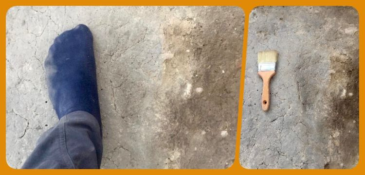 Arkeologlar Aktopraklık'ta 7500 yıllık insan ayak izleri buldu