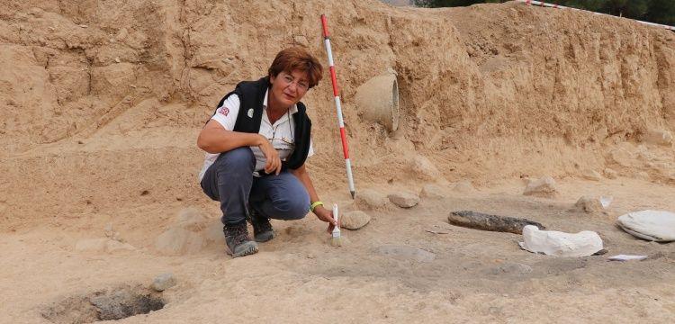 Hierapolis Antik Kenti'nde Frig dönemi bulgularına rastlandı