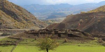 Bingölün Solhan ilçesinde Urartu dönemi askeri karargahı keşfedildi