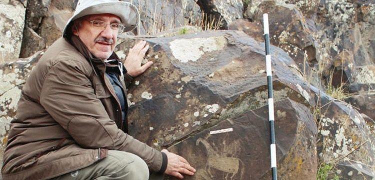 Kağızman'da bulunan kaya resimlerinde Türk motifleri dikkat çekiyor