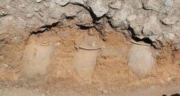 Hattuşa arkeoloji kazılarında 75 tane küp bulundu