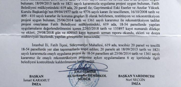 Süleymaniye'de tuz koktu: Yıkması gereken belediye kaçak kat çıktı!
