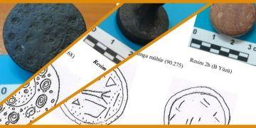 İstanbul Arkeoloji Müzesindeki 3300 yıllık Hitit iyi erkek mühürleri
