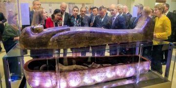 Yuya ve Tuya mumyaları Mısır Müzesinin 116. yılında sergilendi