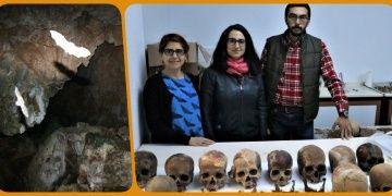 Türkiyedeki ilk mağaraiçi toplu mezar Alanyada keşfedildi