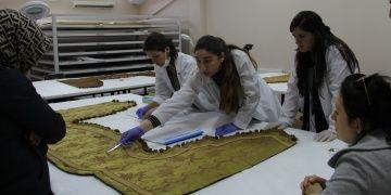 Beylerbeyinde Restorasyon Konservasyon Laboratuvarı kuruldu