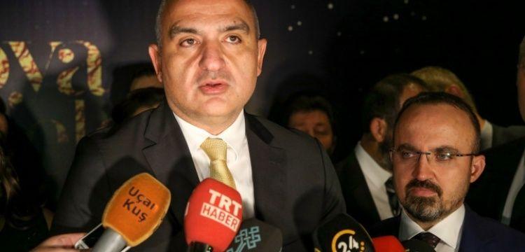Mehmet Nuri Ersoy: 2018 yılı konaklama geliri 10 gastronomi geliri 5 milyar olacak