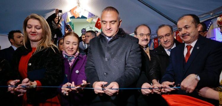 Bakan Ersoy Mostar'da restorasyonu biten Karagöz Bey Medresesi'ni açtı