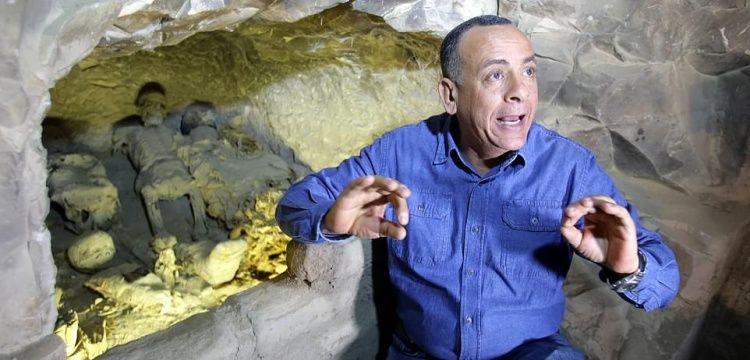 Firavunları mumyalayan rahibin 3 bin yıllık mezarı bulundu