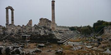 Apollon Tapınağında su sızıntısı var ama endişeye mahal yok