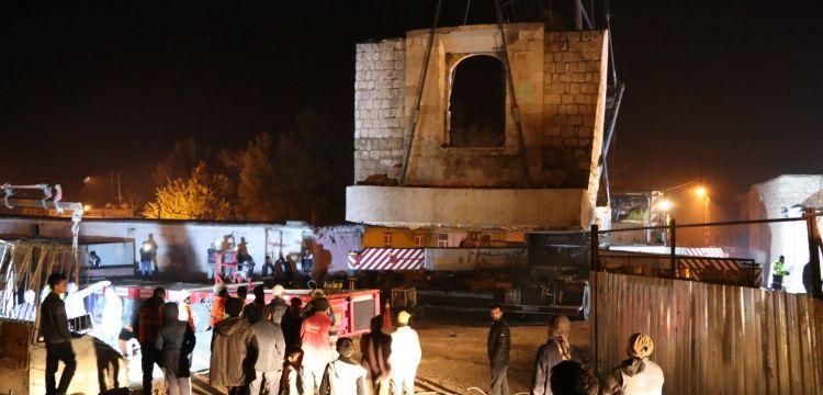 Hasankeyf'teki Eyyubi Camisinin ilk bölümü taşındı