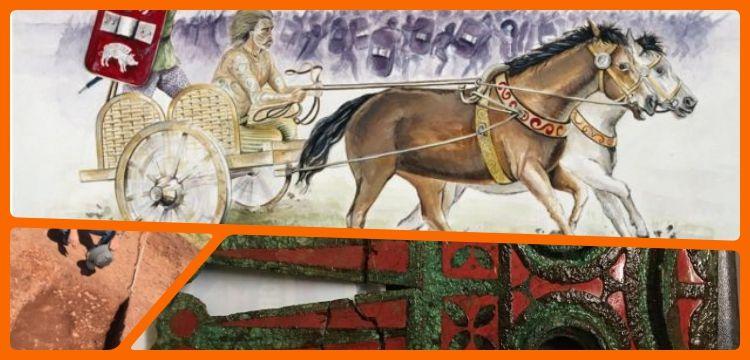 Galler'de ilk kez Keltlere ait savaş arabası mezarı bulundu