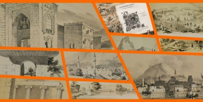 Leon de Labordenin Küçük Asya Yolculuğundan Anadolu manzaraları