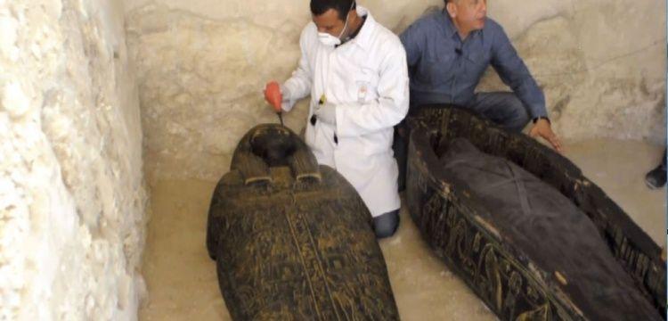 Mısırın El-Uksur kentinde 4 bin yıllık firavun mezarı bulundu.