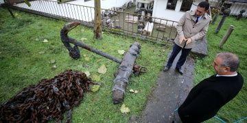 Balıkçıların 18. yüzyıla ait Osmanlı çapası tuttuğu tespit edildi