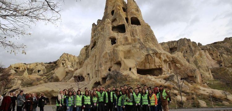 Kapadokyada çevre temizliği kampanyası