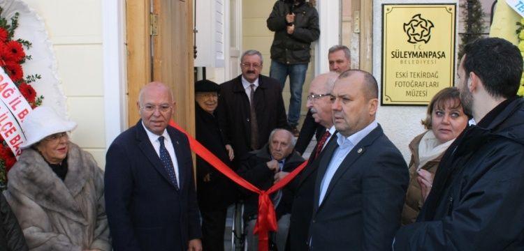 Tekirdağ Fotoğrafları Müzesi törenle açıldı