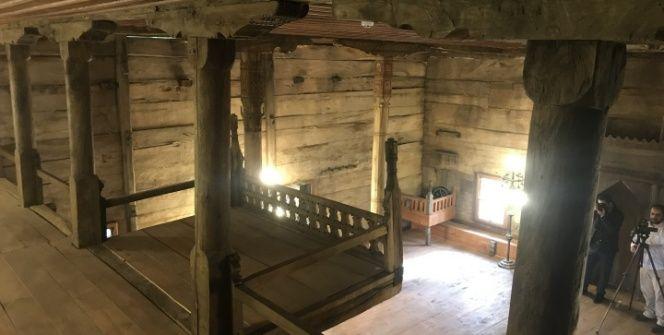 Çarşambadaki 650 yıllık çivisiz Ordu Köy camisi restore edildi