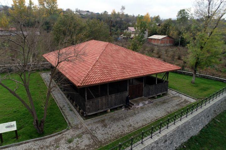 Çarşamba'daki 650 yıllık çivisiz Ordu Köy camisi restore edildi