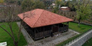 Samsunda Taceddinoğulları Beyliğin mirası çivisiz cami restore edildi