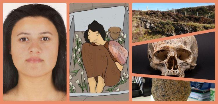 4250 yıl önce İskoçya'da ölen kadının yüzü muhtemelen böyleydi