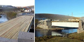 Ardahandaki Rus çelik köprüsü restore edildi