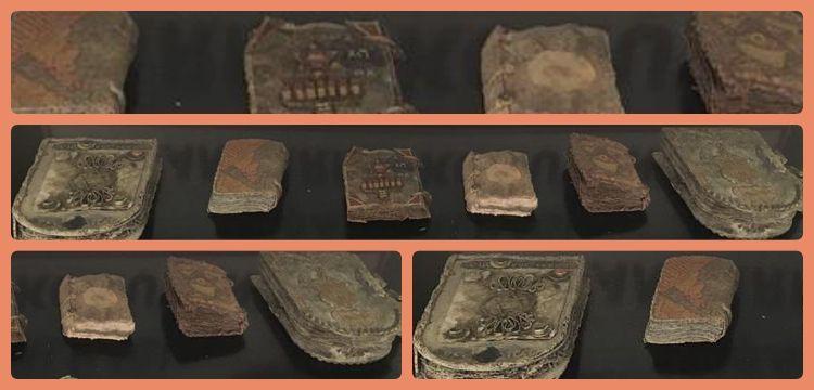 Uşak'ta satış için Hatay'dan getirilen el yazması 6 Tevrat yakalandı