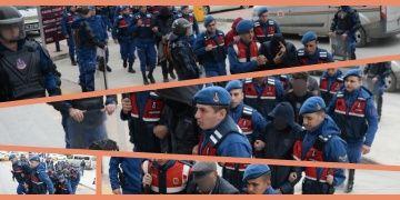 Uşakta sit alanında kaçak kazıda yakalanan 9 defineci tutuklandı