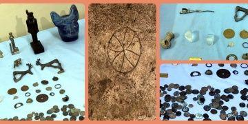 Kırıkkalede bir köy evinin bodrumuna 280 tarihi eser yakalandı