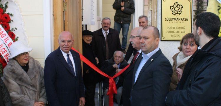 Tekirdağ Dimitrios Mavridis fotoğrafları müzesi törenle açıldı