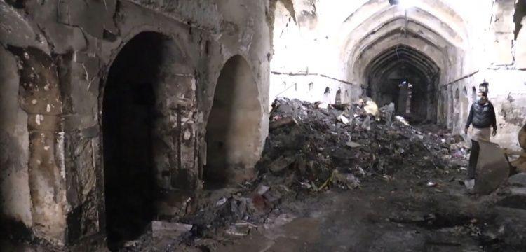 Kerkük Kayseri Çarşısı TİKA tarafından restore edilecek