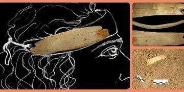 Denisova Mağarasında 50 bin yıllık fildişi taç bulundu