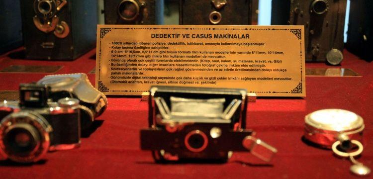 Malatya Fotoğraf Makinesi Müzesinde casus fotoğraf makineleri de sergileniyor