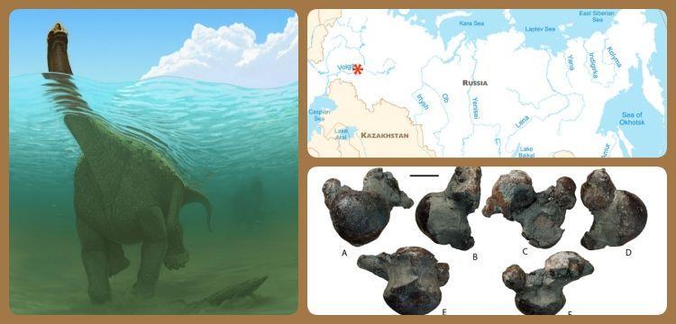 Rusya'da 17 tonluk yeni dinozor türü keşfedildi
