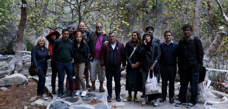 İngiliz gazeteciler Muğla ve çevresinde misafir ediliyor