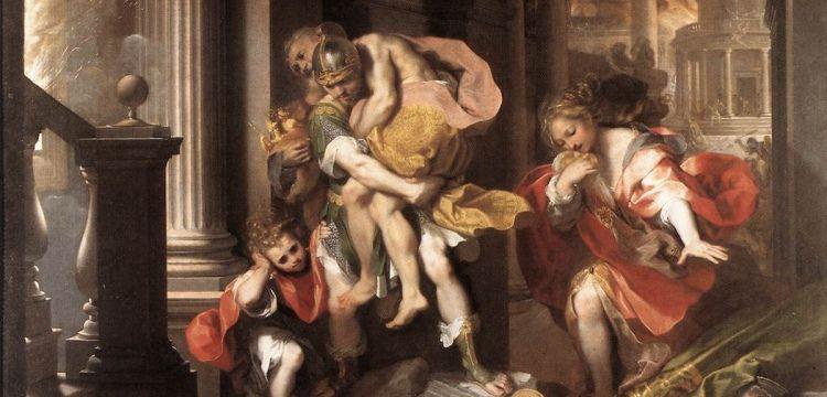 Troialı kahraman Aeneas tekrar Balıkesir'den Roma'ya gidecek