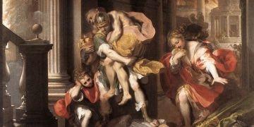 Troialı kahraman Aeneas tekrar Balıkesirden Romaya gidecek